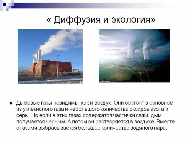 Углекислый газ и экология