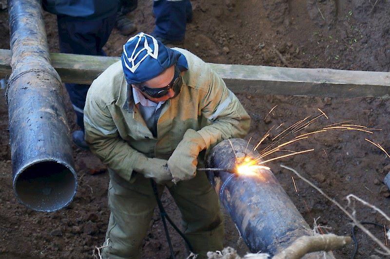 Газовая сварка труб