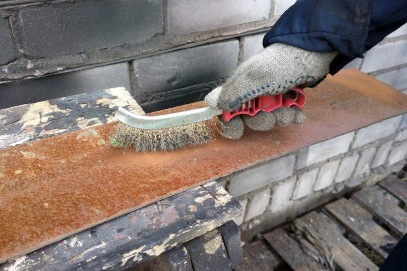 Механическая очистка от ржавчины