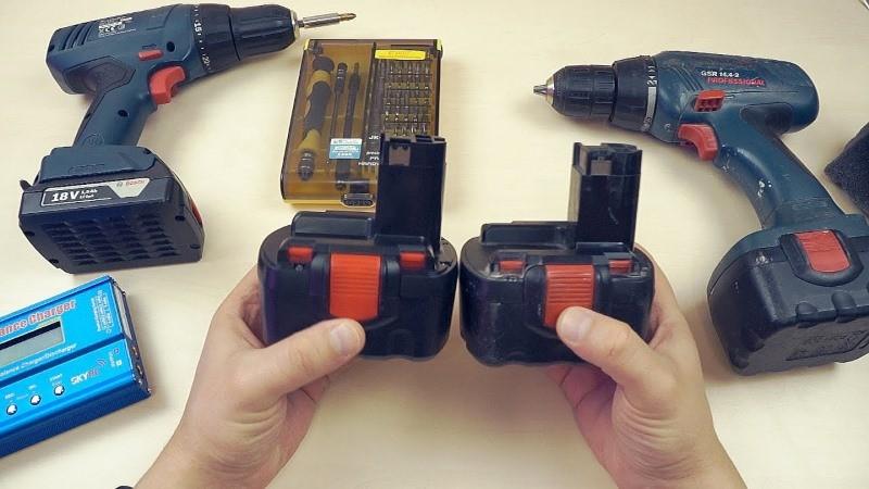 Аккумуляторы для шуруповерта