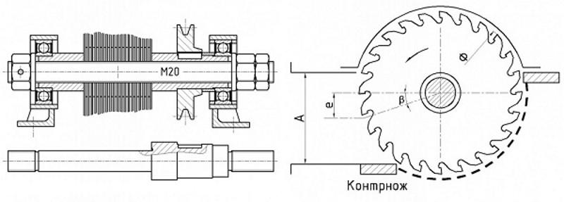 Схема самодельной дробилки