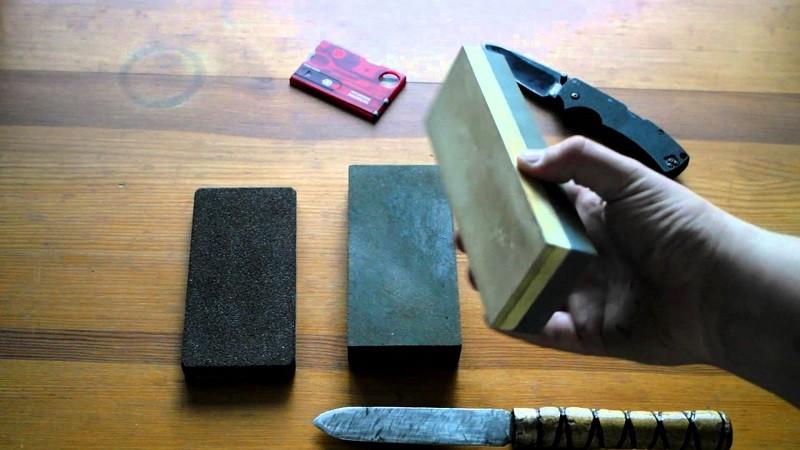 Заточка ножа из стали Р6М5