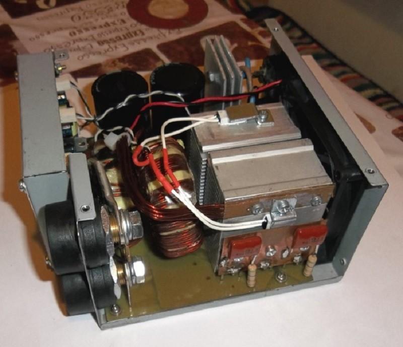 Схема тиристорный сварочный аппарат