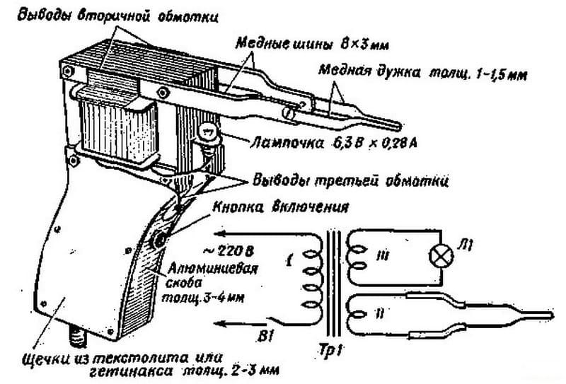 Схема импульсного паяльника своими руками