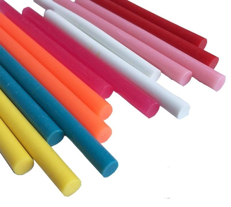 Цветные клеевые стержни