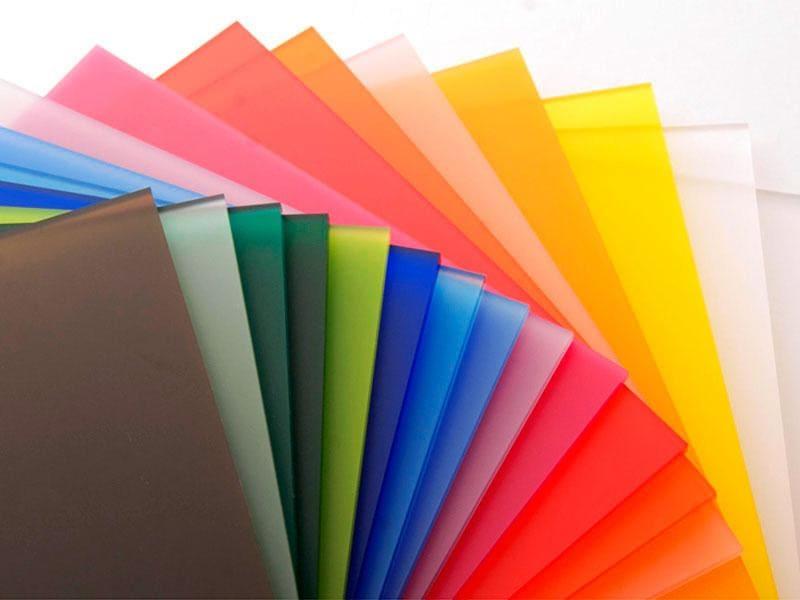 Разноцветное оргстекло