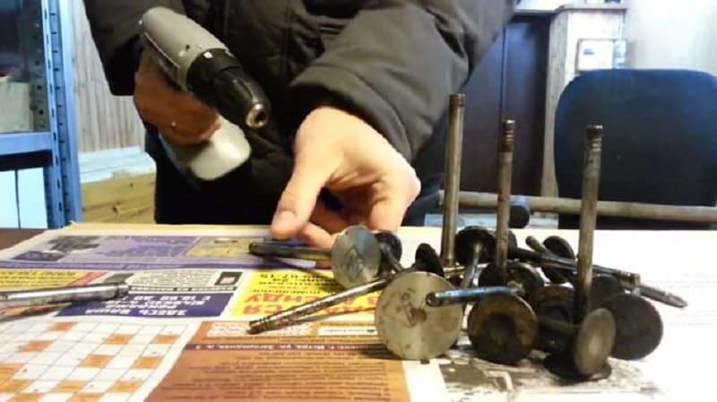 Самодельная насадка на основе автомобильного клапана