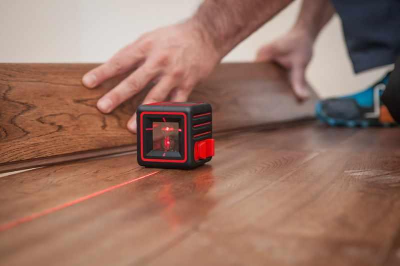 Использование портативного лазерного нивелира