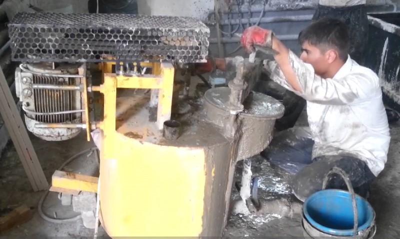 Производство пеноблоков литьем