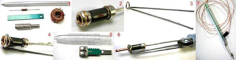 Паяльник для микросхем из резистора МЛТ-0,5