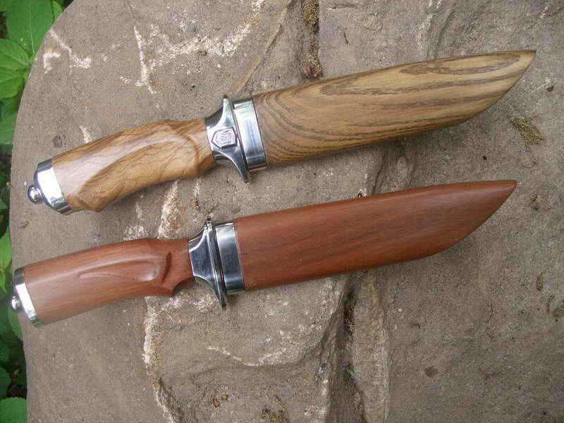 Сделать рукоятку ножа своими руками 552