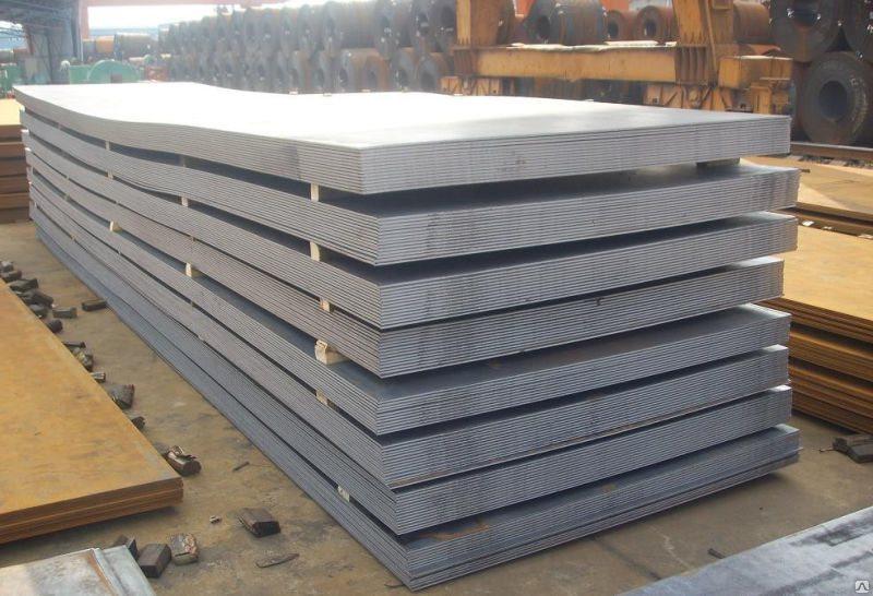 Лист стальной 140х500 мм сталь 35