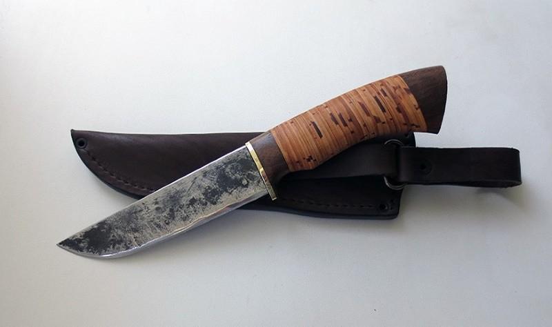 Нож из инструментальной стали 9ХС