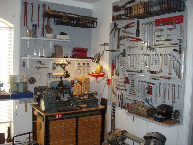 Домашняя столярная мастерская