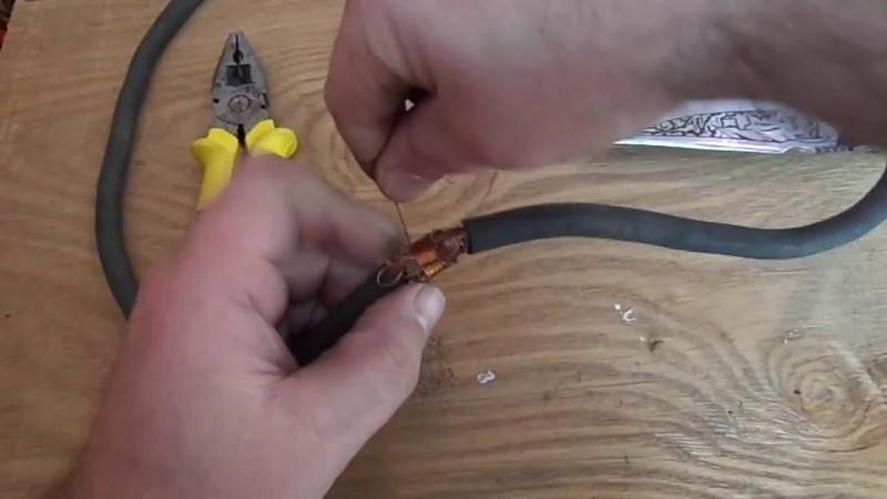 Удлинение кабеля