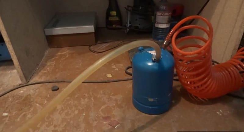 Сборка бензиновой горелки своими руками