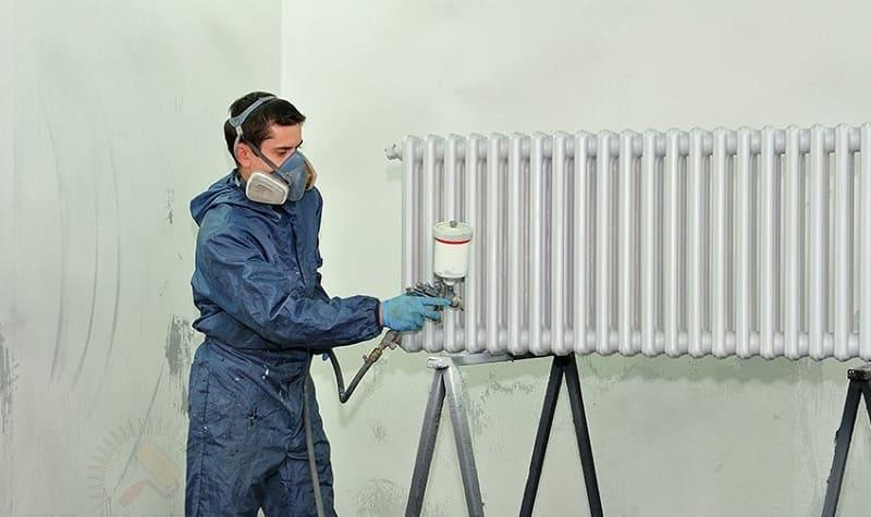 Техника безопасности при работе с краскораспылителем
