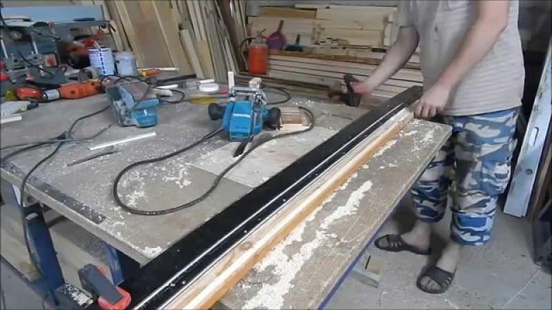 Изготовление направляющей шины