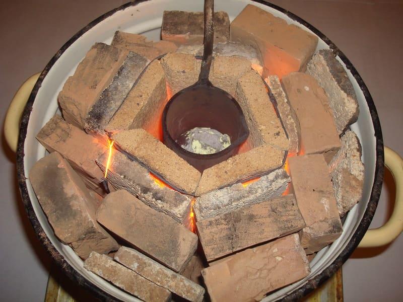 Самодельная муфельная печь