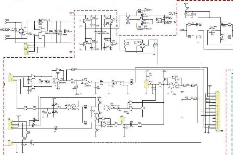 Принципиальная схема сварочного инвертора Сварис