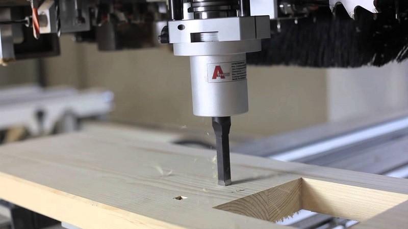 ЧПУ для пробивания квадратных отверстий