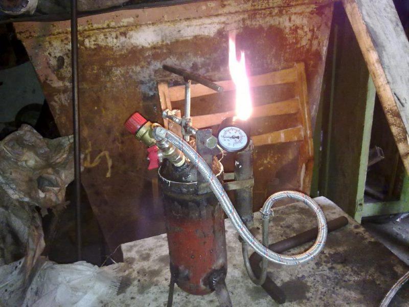 Самодельный генератор в работе