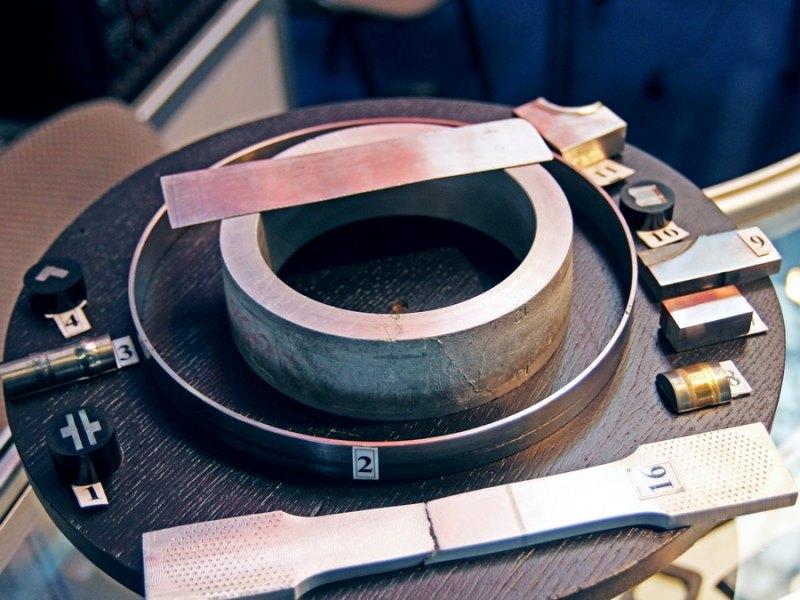 Образцы электронно-лучевой сварки