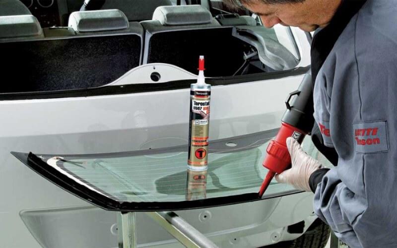 Клей для стёкол автомобиля