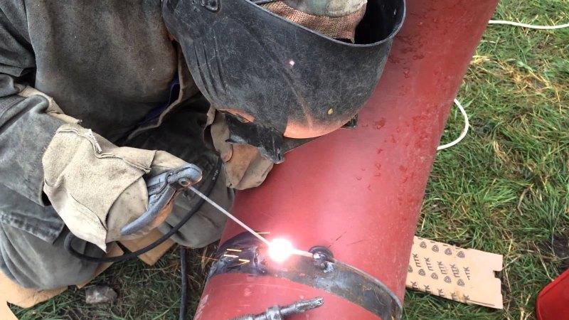 Как варить трубы электросваркой