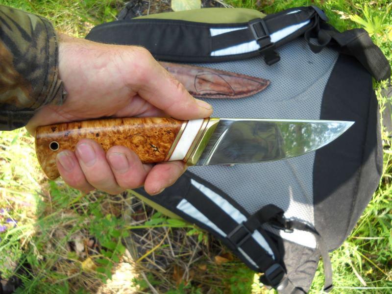 Нож для рыбалки из клапана