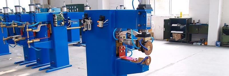 Производство, оборудованное машинами шовной сварки
