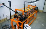 Автоматический станок для производства сетки рабицы