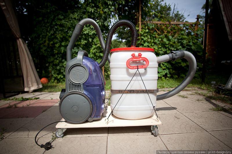 Самодельный циклон для пылесоса
