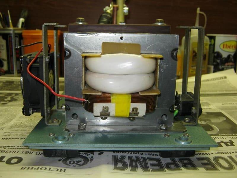 Аппарат для сварки из микроволновой печи