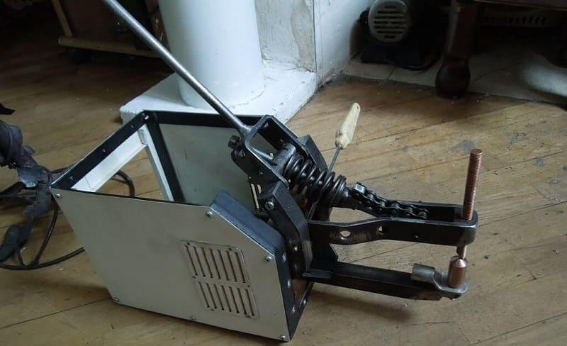 Сборка аппарата для точечной сварки своими руками