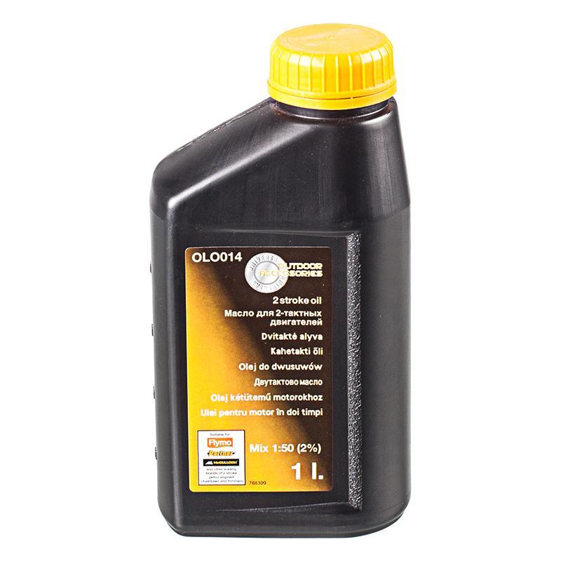 Масло двухтактное для бензопилы и косы