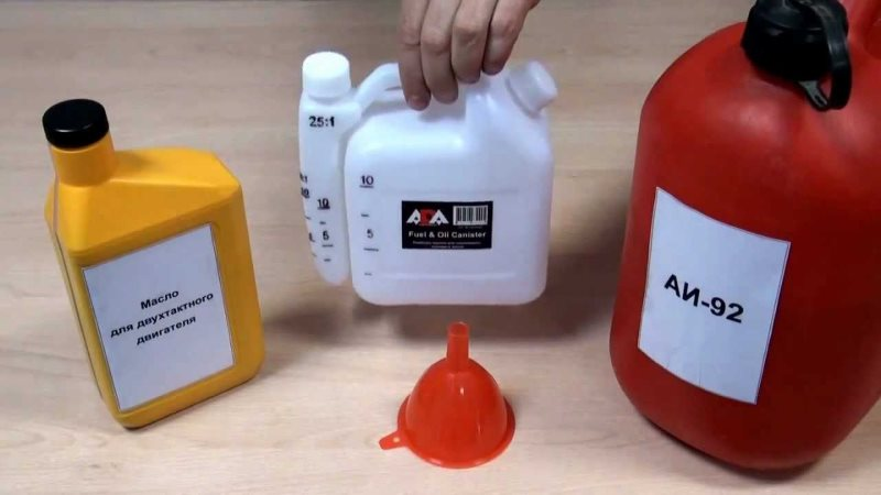 Топливная смесь для бензопилы
