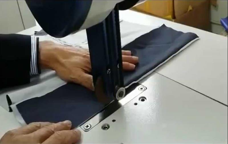 Использование ультразвуковой швейной машины