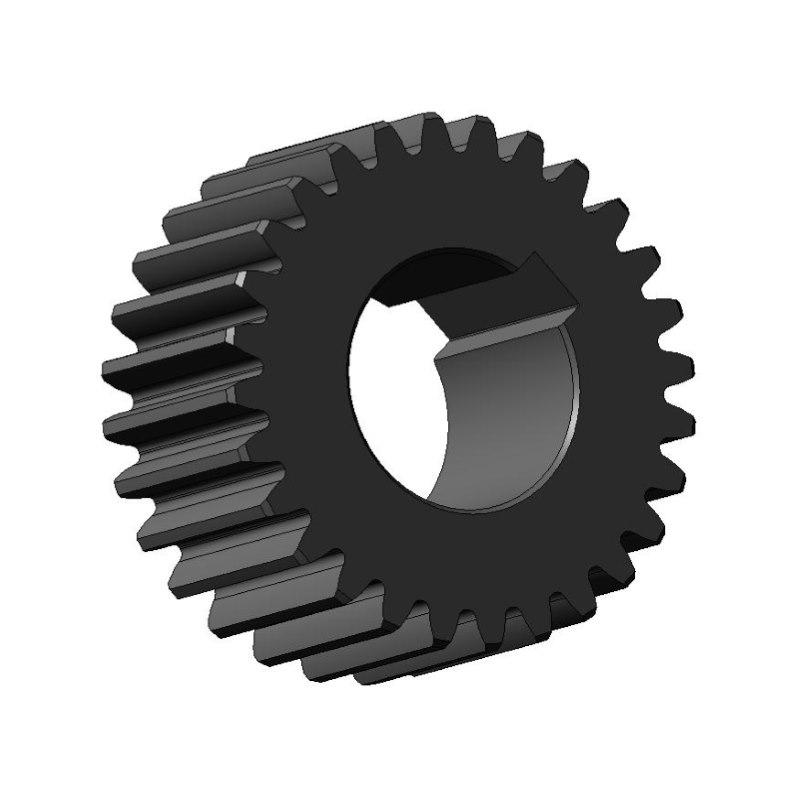 Длина общей нормали зубчатого колеса