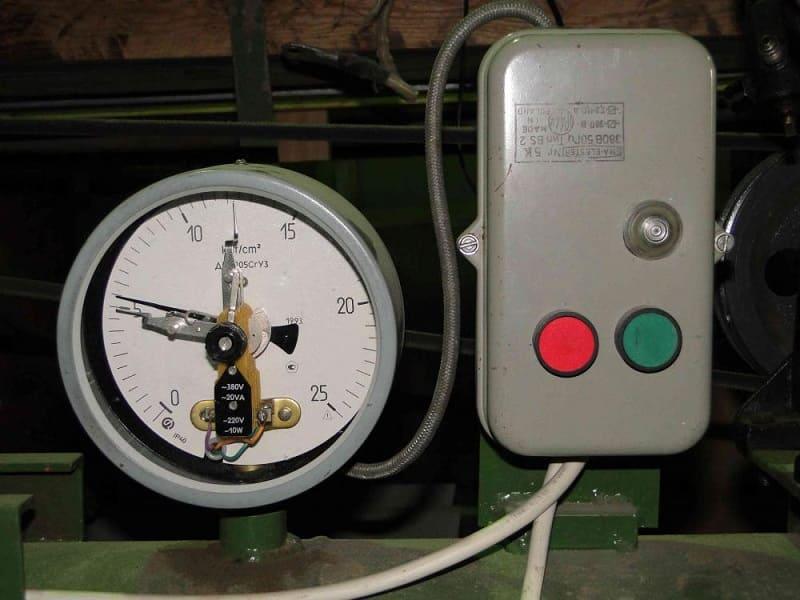 Применение электромагнитного манометра