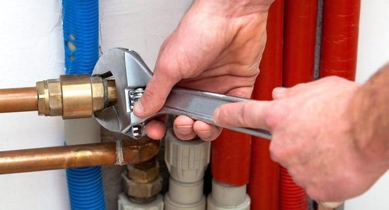 Установка клапана сброса избыточного давления