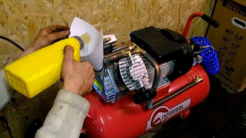 Обслуживание компрессора для гаража