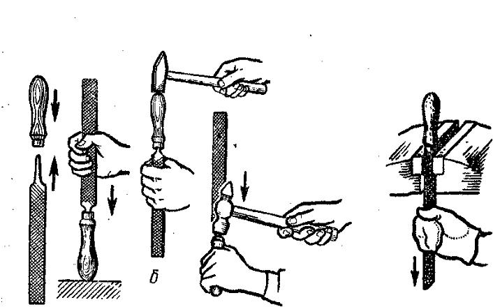 Правильная эксплуатация драчевого напильника