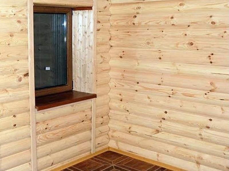 Применение горбыля в строительстве домов