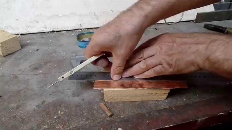 Самостоятельное изготовление чертилки по металлу