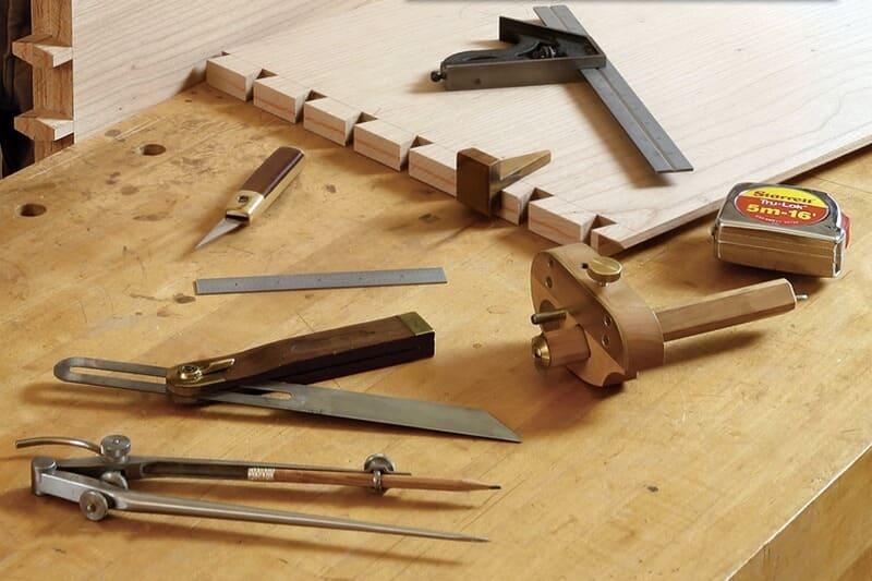 Инструменты для создания ласточкиного хвоста своими руками