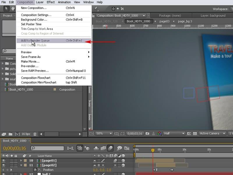 Создание рендера в графическом редакторе