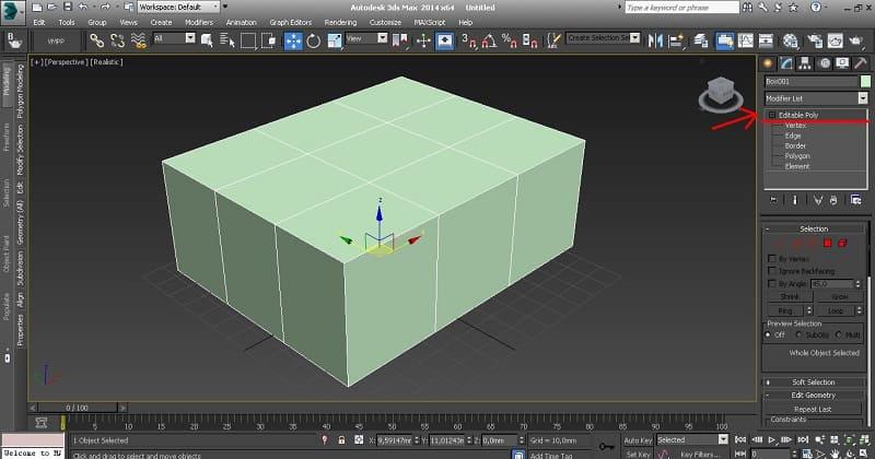 Проектирование моделей с помощью полигонов