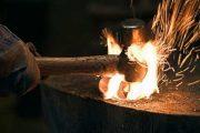 Нагрев металлической заготовки