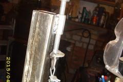 Крепления тросика барабанного механизма
